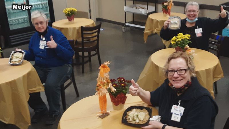 Local restaurants are benefitting from a holiday partnership with Meijer.