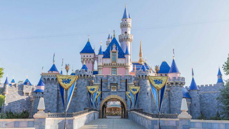 Sleeping Beauty Castle at Disneyland Park.
