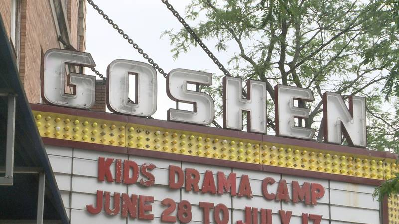The outdoor portion of the Downtown Summer Block Party in Goshen was cancelled due to the rain,...