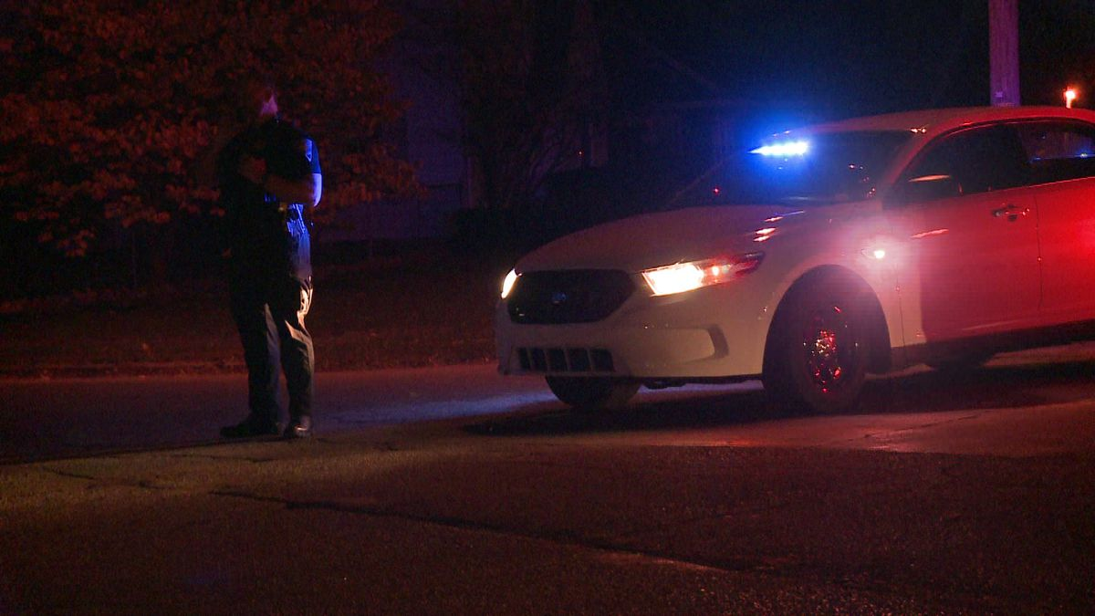 A man in his 50s was shot in the shoulder Saturday night in South Bend.