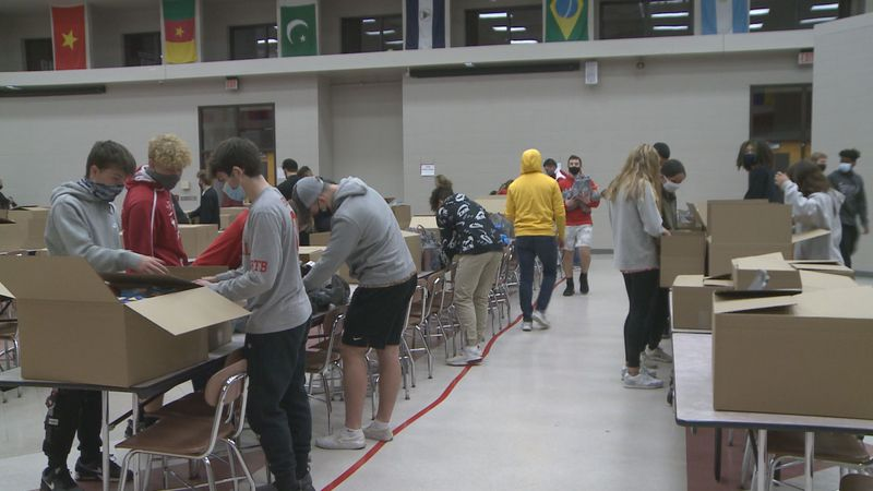 To help families at Goshen Community Schools put food on the table this holiday season, the...