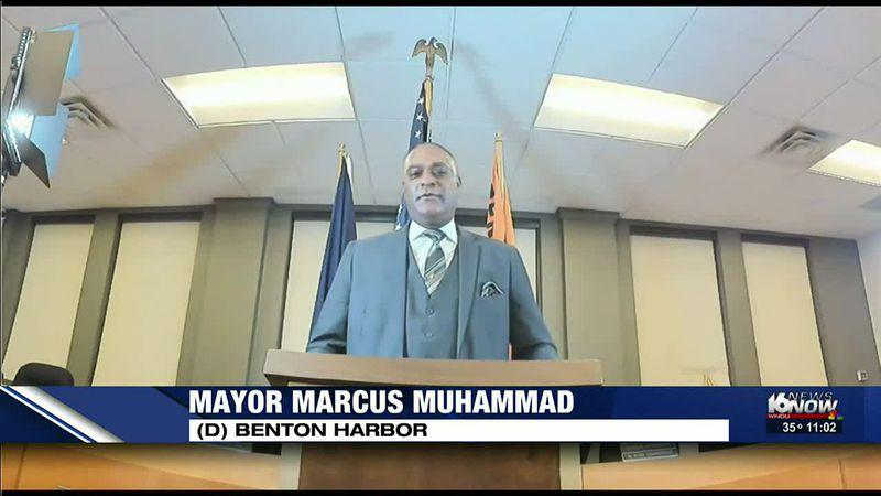Benton Harbor mayor gives State of the City Address