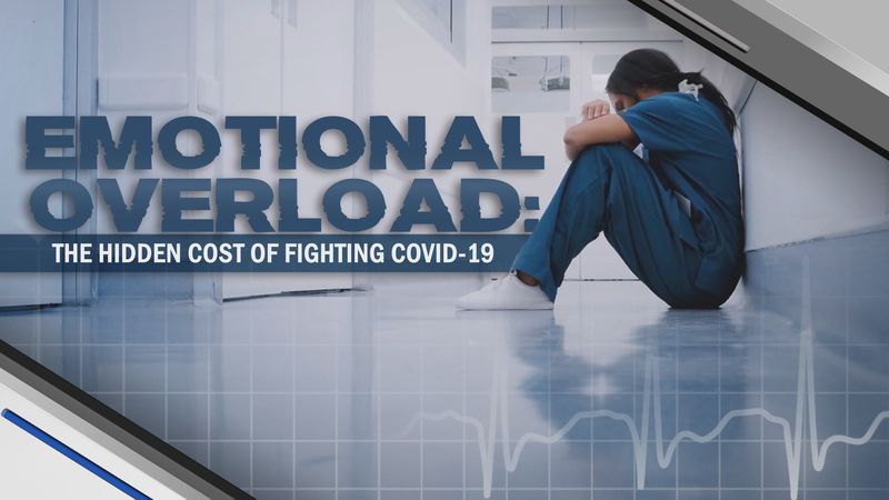 This special report looks at the mental toll the pandemic is taking on healthcare workers.