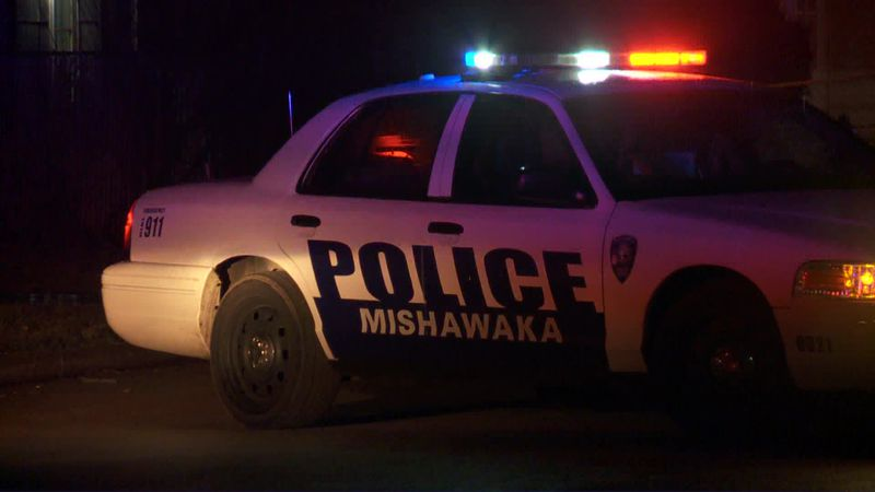 Mishawaka police respond to a shooting.