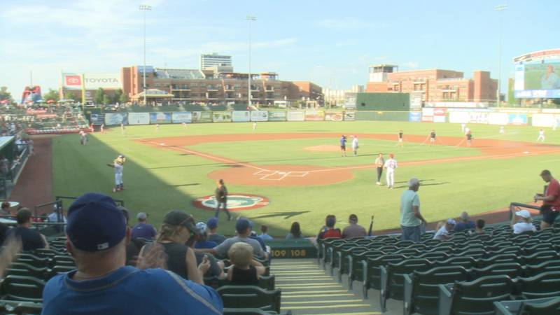 A look at Four Winds Field on August 3, 2021.