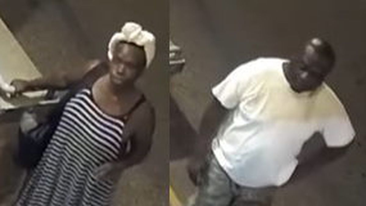 These two individuals are wanted for a robbery in Elkhart.