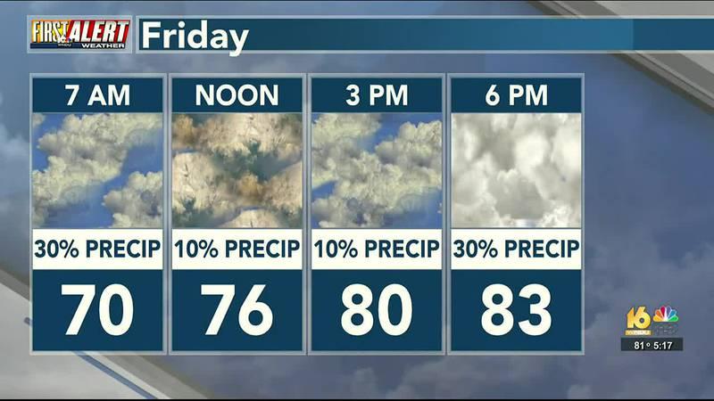 First Alert Weather: Thursday