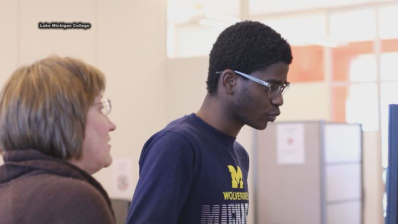 "Gov. Gretchen Whitmer launches $30 million dollar ""Michigan Reconnect"" program to provide free..."