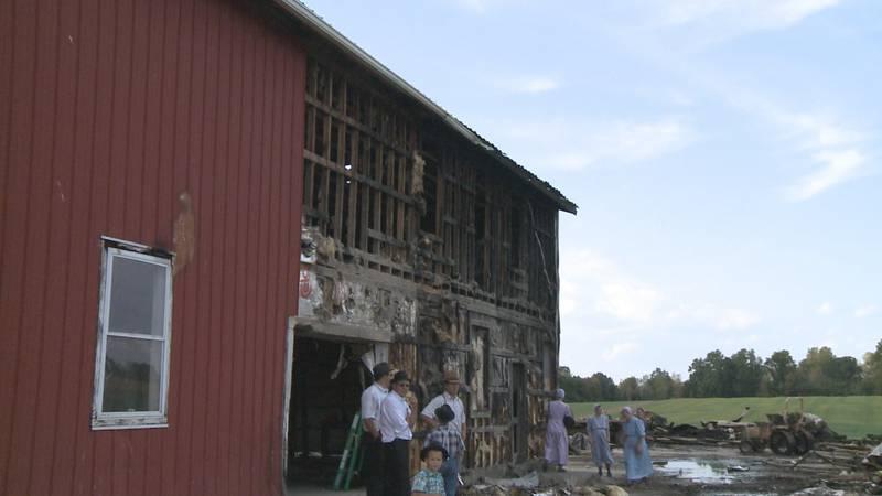 Multiple fires in Goshen were set off