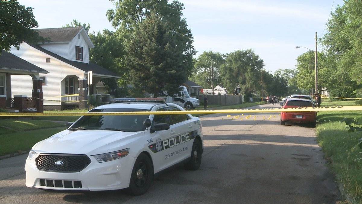 One man is dead and another injured after a shooting and crash in South Bend early Sunday...