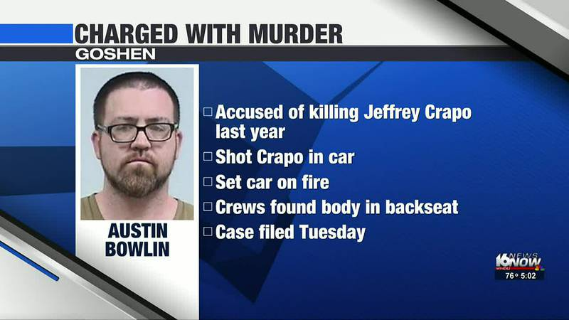 37-year-old Austin Bowlin is accused of killing Jeffrey Crapo back in March 2020.