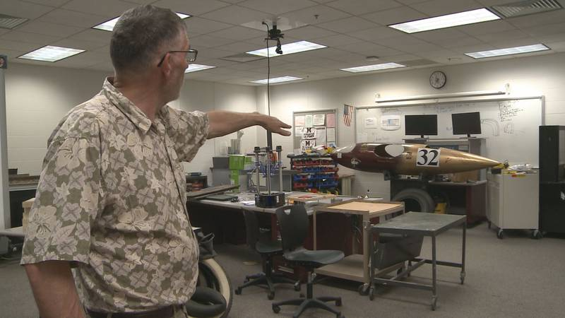 Paul Modlin has been teaching at Mishawaka High School for 31 years, and he has had the...