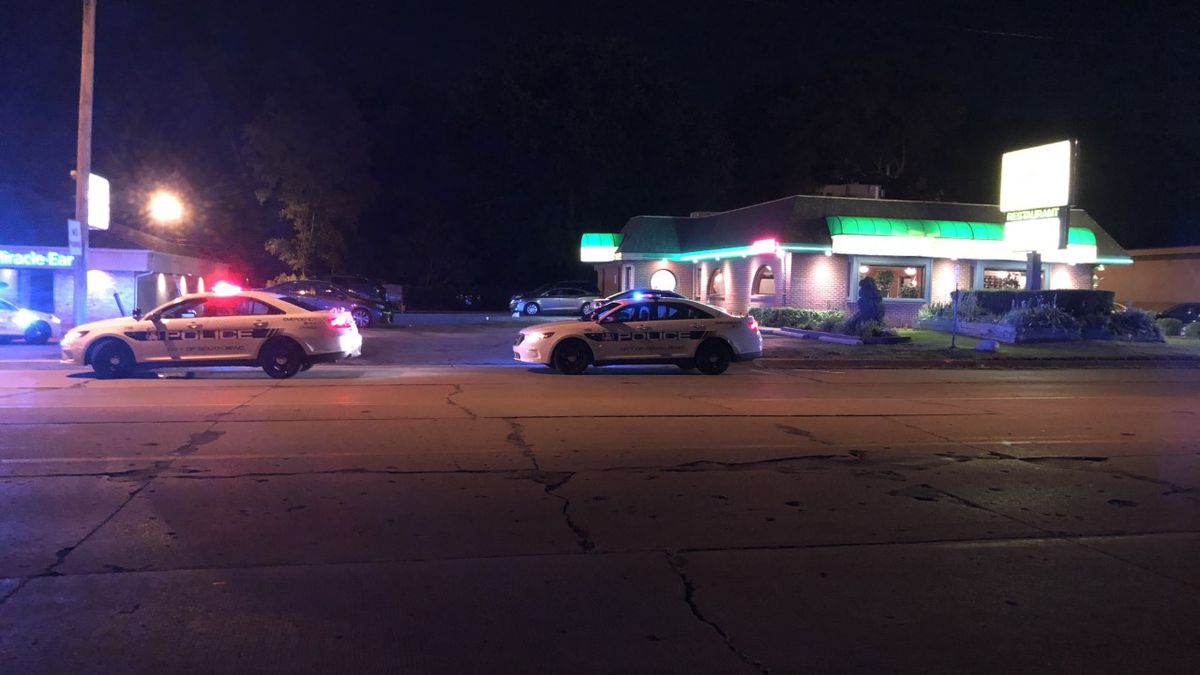 Police investigate possible shooting call at Nick's Patio in South Bend.