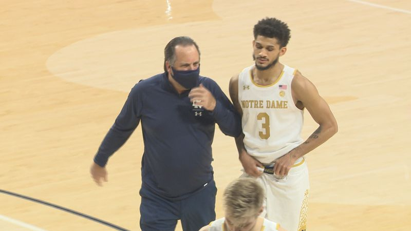 Kentucky has a lot to prove Saturday afternoon, but Mike Brey says the Irish do too.