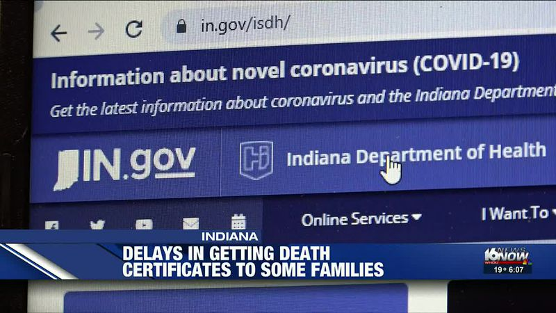 Delays in getting death certificates to some families creates concerns