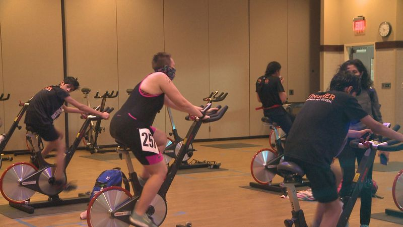 Triathletes in South Bend were able to put their skills to the test at the fourth annual 'Tri...