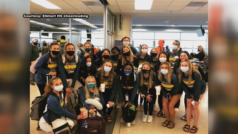 What's Good here in Michiana? The Elkhart High School Cheerleading team is headed to Disney...