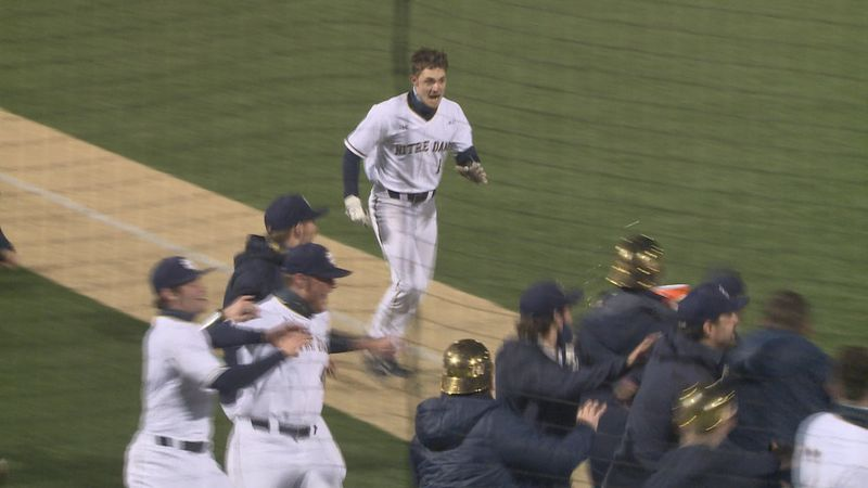 Cole runs toward home plate after hitting first career home run.