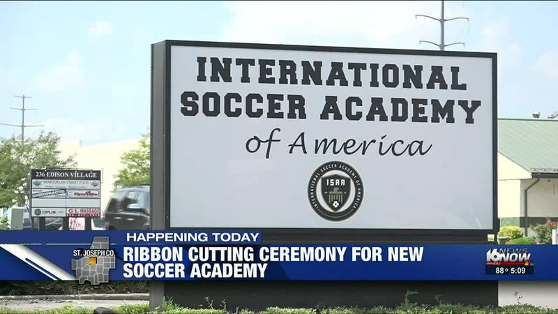 Ribbon-cutting for Soccer Academy in Mishawaka