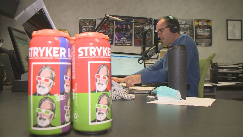 On Friday starting at 3 p.m., a beer named in honor of Ron Stryker will be released at Bare...