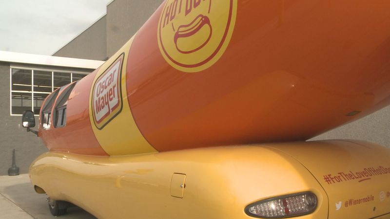 The Oscar Mayer Wienermobile is making its way through Michiana!