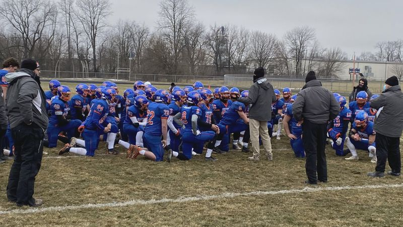 The Edwardsburg Eddies lost to Cadillac in the state semifinal game at Leo Hoffman Field...