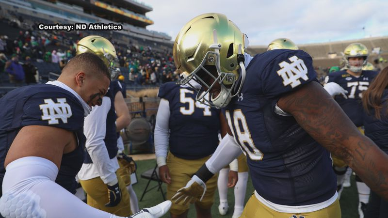 The Fighting Irish have been dealing with the so-called narrative all week long. But to them,...