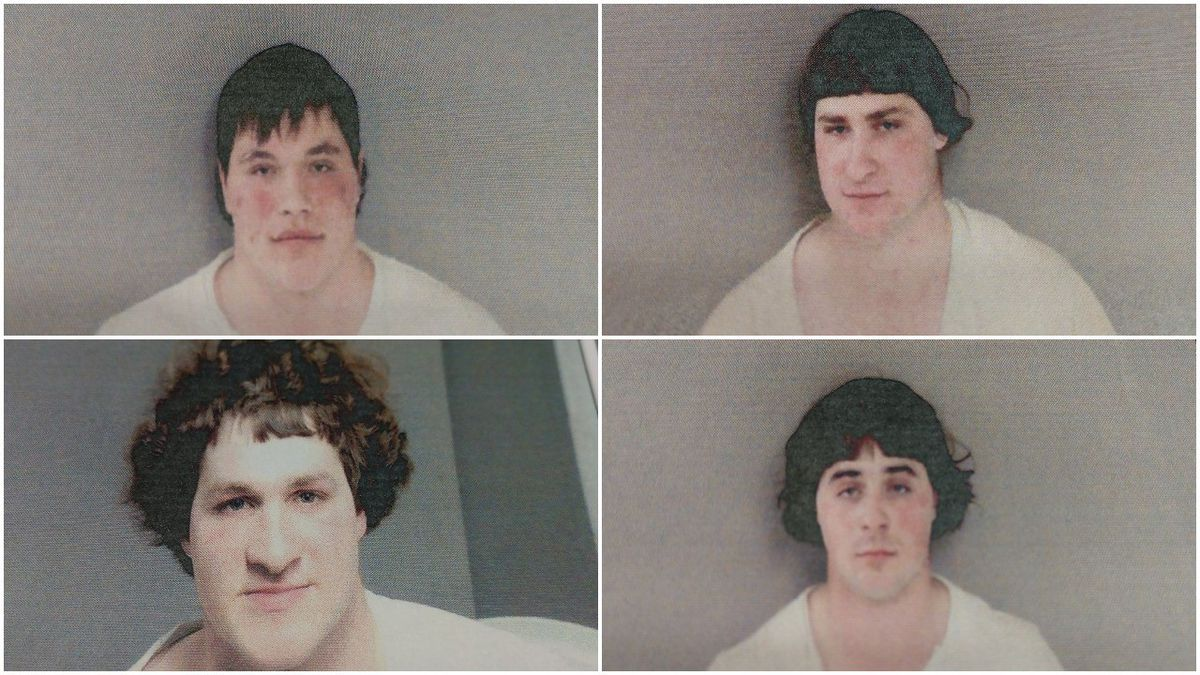The Gladwin County Sheriff's Office says these four underage men were operating a horse and...