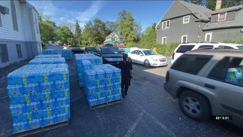 The city of Benton Harbor is sounding the alarm on its ongoing water crisis by declaring a...