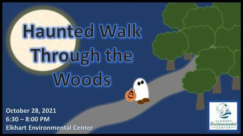 """The """"Haunted Walk Through The Woods"""" will begin at 6:30 p.m. on Oct. 28, but there are..."""