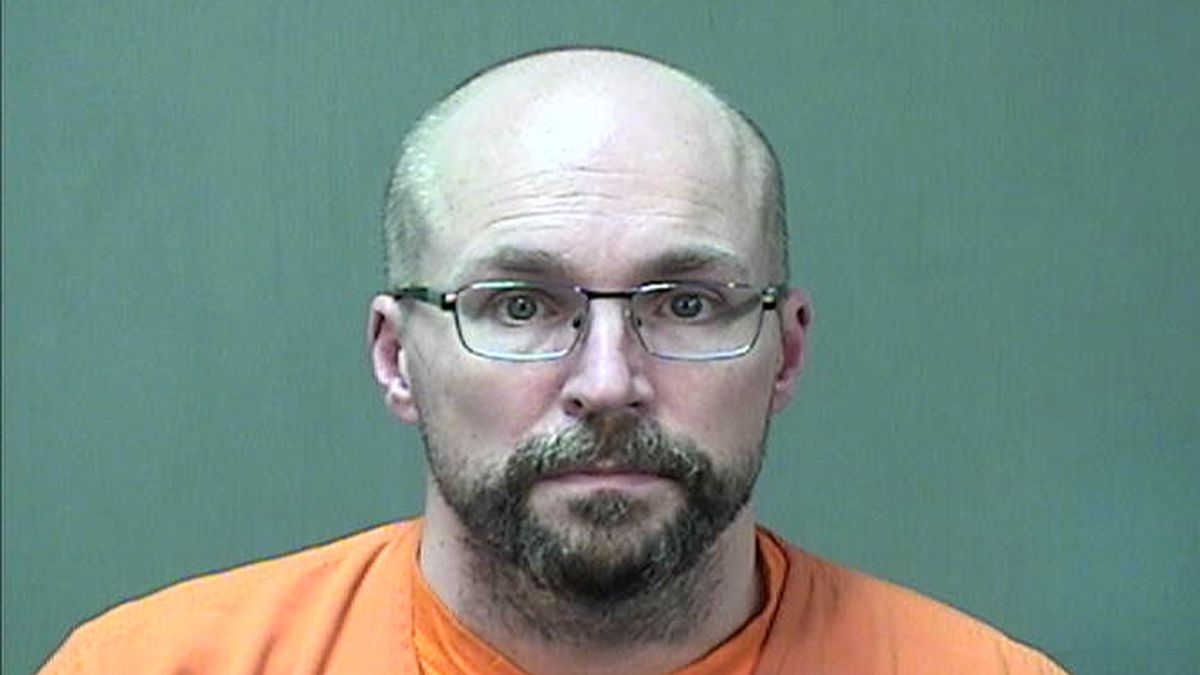 FILE - In this Jan. 4, 2021 booking photo provided by the Ozaukee County Sheriff's Office in...