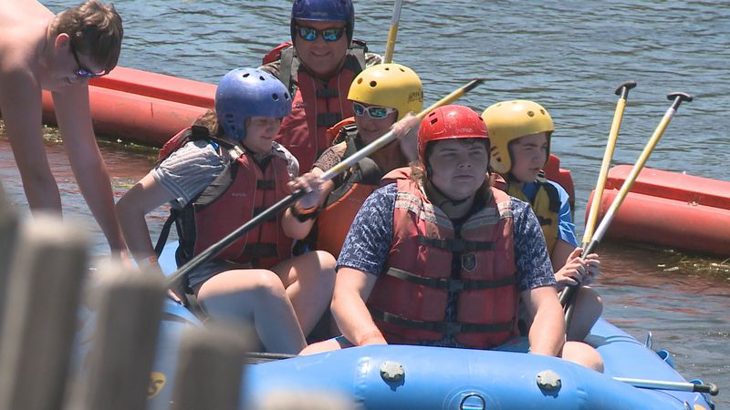 Sunday afternoon marked the second week of a summer long rafting and kayaking season that will...