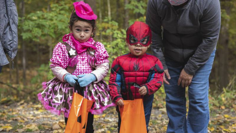 A variety of vendors will be around the trail to offer candy and treats.