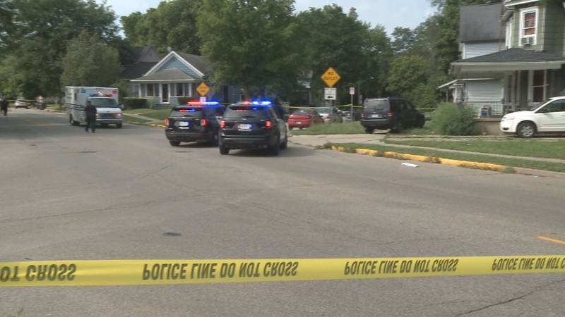 Police say end the violence in Elkhart after a 2-year-old is shot and killed.
