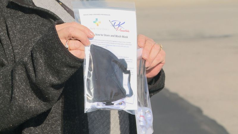 Goshen Home Medical is doing its part to help the community mask-up with a free mask giveaway.
