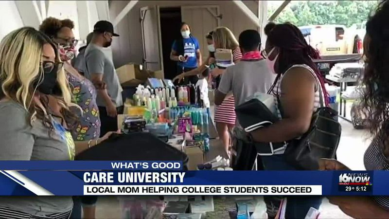 Local mom helps college students succeed