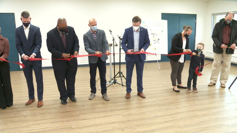 The dedication comes after a $1.7 million renovation to the park, funded through the My SB...