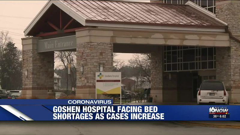Goshen Hospital reaching critical capacity with record-number of COVID patients