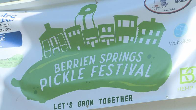 The Pickle Festival has returned to the Village of Berrien Springs with pickle-themed fun for...