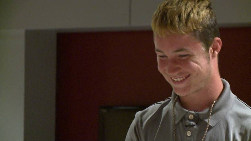 Foster kids like 15-year-old Peyton are hoping to find parents who will adopt him and help him...