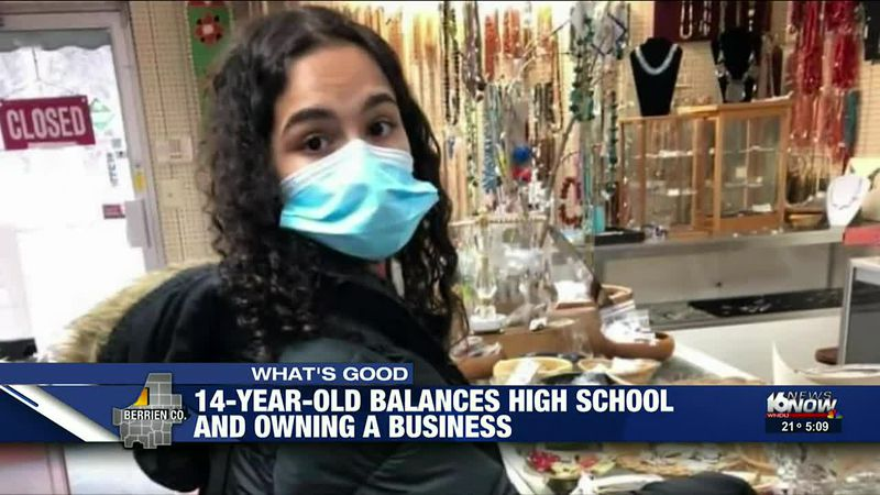 Niles teen balances school and thriving jewelry business