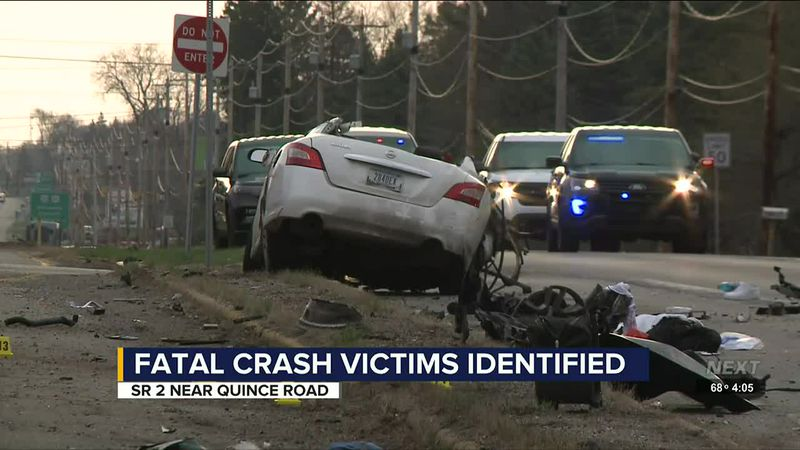 Victims identified in fatal crash between car and semi