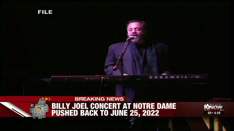 Billy Joel concert at Notre Dame Stadium rescheduled for 2022