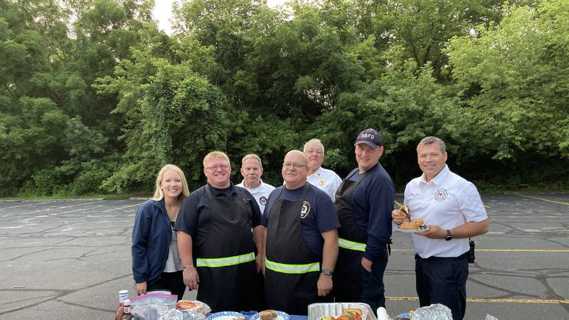South bend, Penn Township and Clay Fire Departments all competed on the grill. The goal? To...