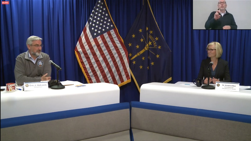 Gov Holcomb and ISDH Update 3-31