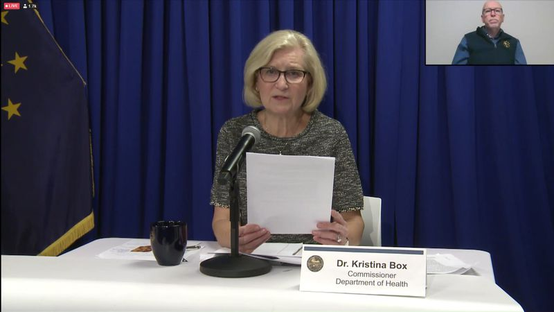 Dr. Kristina Box says the number of cases in the state is on the decline, but she says it's too...