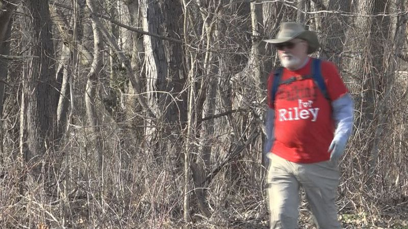 Greg Compton, 67, of Plymouth will walk 260 miles to raise money for Riley Children's Hospital.