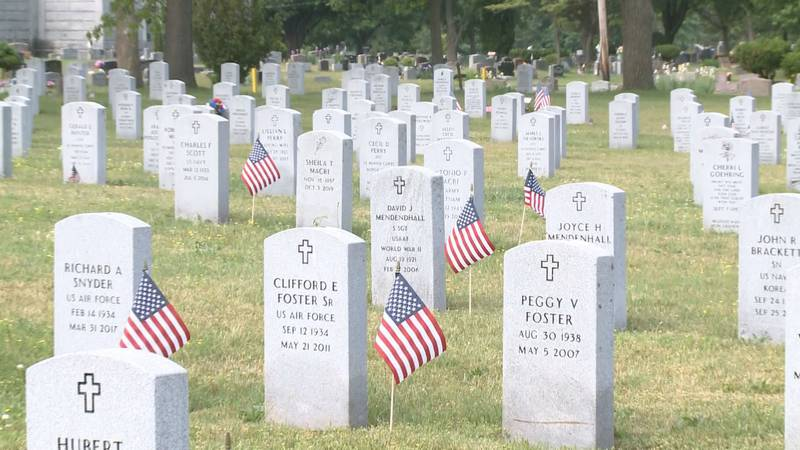Local veterans in Michiana are decorating military graves of men and women who served this...