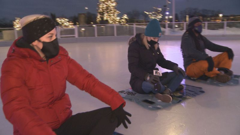 If you're looking for a cool and unique way of trying out yoga, Howard Park's yoga on ice may...