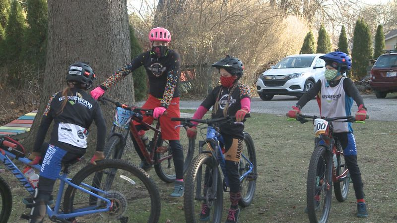 We are learning more about a Goshen man and his passion for cycling despite the fact that he is...